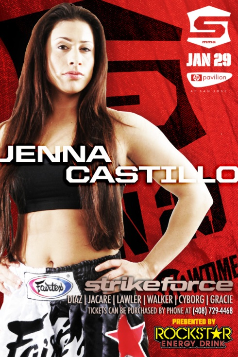 Jenna Castillo Strikeforce Poster