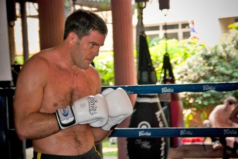 UFC Fighter David Mitchell
