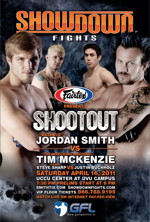 Showodown Fights Poster