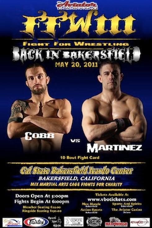 Fight For Wrestling Poster
