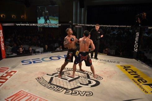 Adrian Pang vs Mushin Cobrey