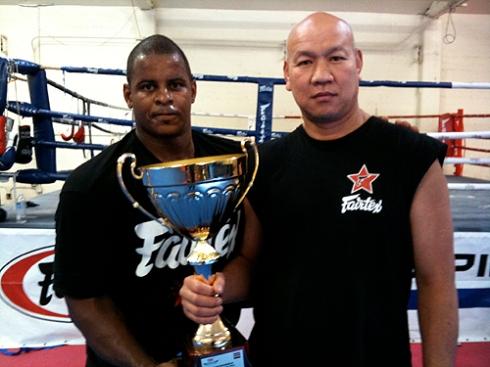 Carter Williams and Ganyao Fairtex