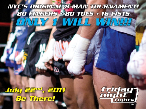 Friday Night Fights Brings Back The Original 8-Man Tournament!