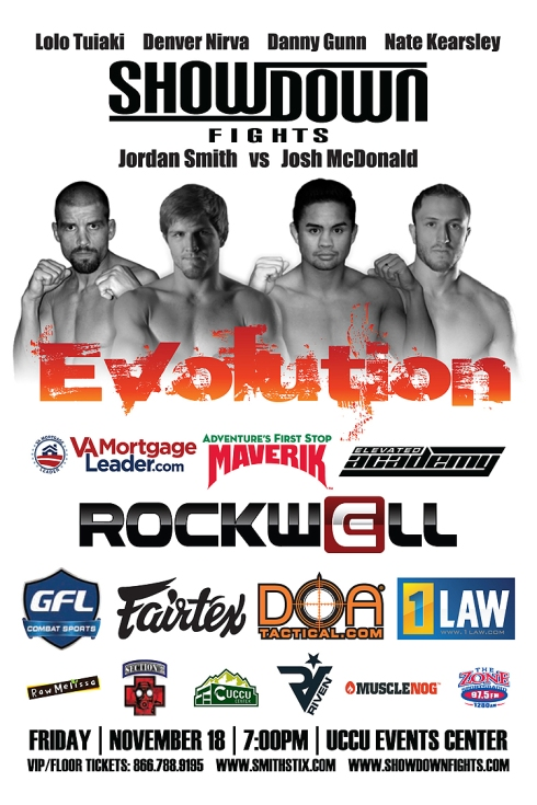 Showdown Fights Evolution Poster