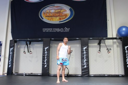 Kru Anh Fairtex Clinch Clinic Success!